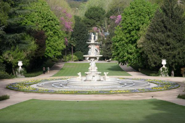 Picture of Campo del Moro (Spain): Fuente de las Conchas fountain is the central point of the Campo del Moro
