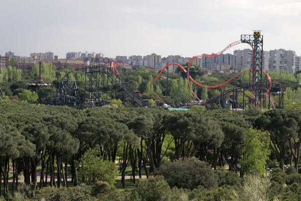 Parque de Atracciones and suburbs of Madrid | Casa de Campo | Spain