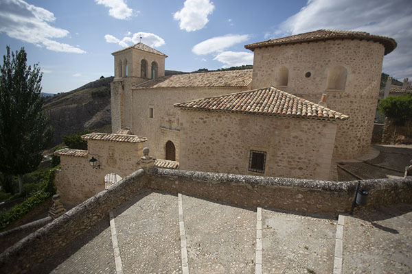 Picture of View over the Iglesia de San Miguel, on the west side of Cuenca - Spain - Europe