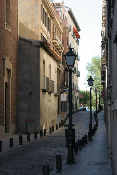 Typical street in Latina, Madrid | Latina | Spain