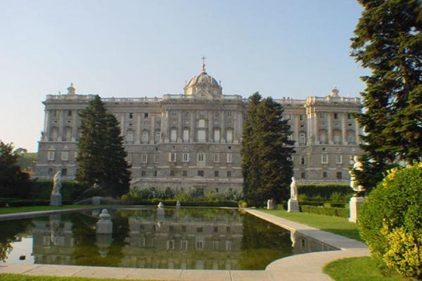 Picture of Sabatini gardens - Palacio Real - Madrid