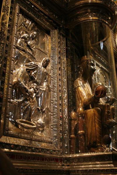 Statue of Black Madonna, Our Lady of Montserrat, or Moreneta | Montserrat | Spain