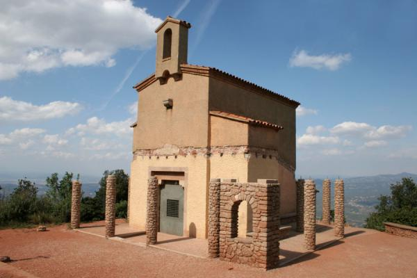 Picture of Sant Miquel chapel in the Montserrat area