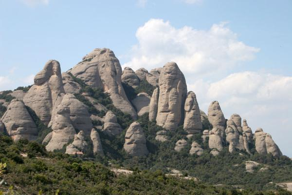 Some of the spectacular cliffs of Montserrat | Montserrat | Spain