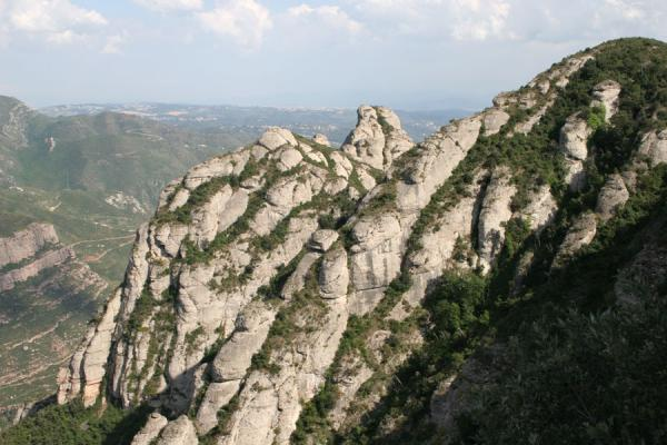 Some of the rocks of the Montserrat mountain range | Montserrat | Spain