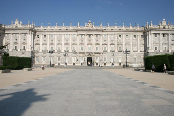 Picture of Royal Palace (Spain): Royal Palace seen from the Plaza de Oriente