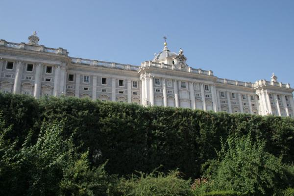 Picture of Royal Palace (Spain): Royal Palace seen from the Sabatini Gardens