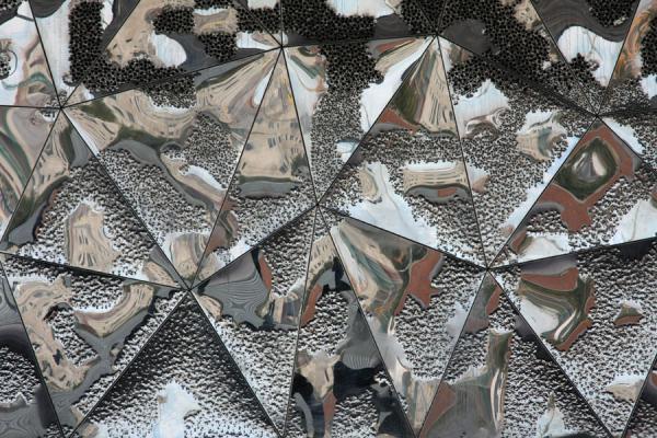 Picture of Parc Diagonal Mar (Spain): Reflections in building of Parc Diagonal Mar