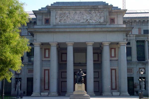 Picture of Paseo de la Castellana (Spain): Prado museum entrance, Castellana, Madrid