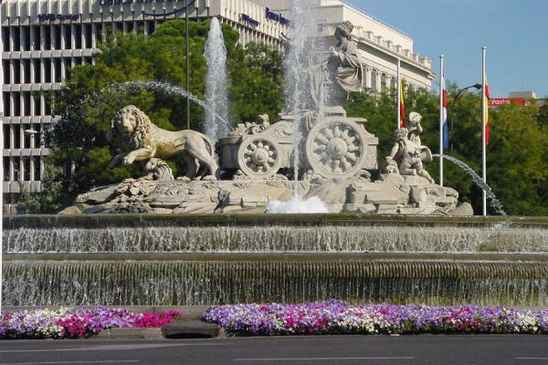 Statue on the Plaza de Cibeles | Paseo de la Castellana | Spain