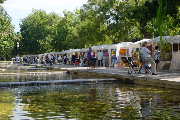 Picture of Paseo de la Castellana (Spain): Art fair on Castellana, Madrid
