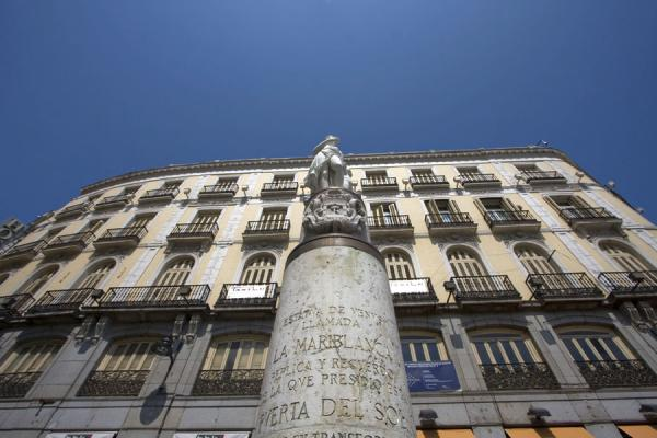 Picture of Puerta del Sol (Spain): Mariblanca, or Venus, statue on the western side of Puerta del Sol