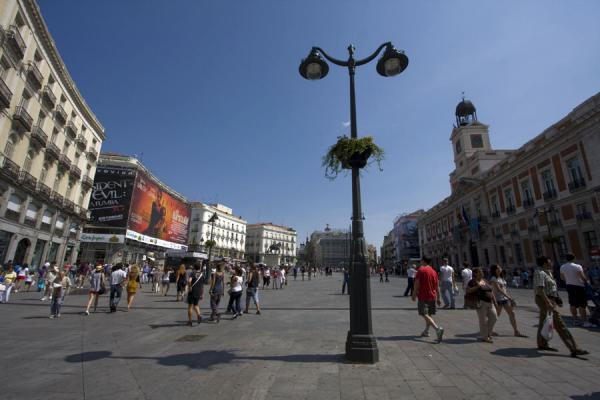 Picture of Puerta del Sol (Spain): Looking over Puerta del Sol