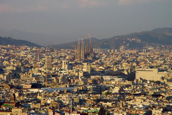 The Sagrada Familia defines the skyline of Barcelona | Sagrada Familia | Spanje