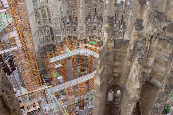 Sagrada Familia seen from above | Sagrada Familia | Spanje