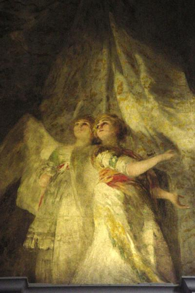 Picture of San Antonio de la Florida (Spain): Angelitas fresco, Goya, Madrid