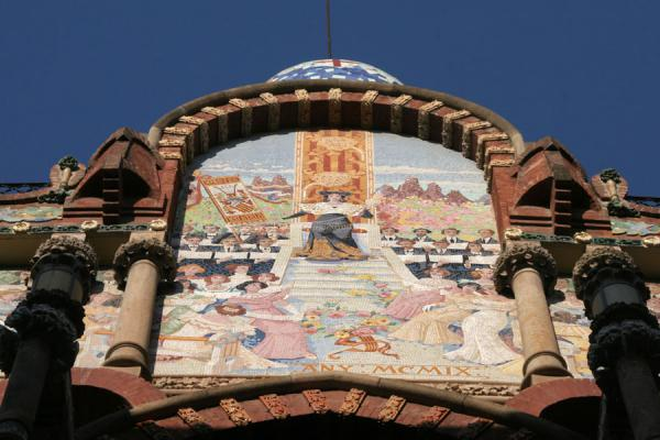 Detail of the Palau de la Música Catalana | Sant Pere | Spain