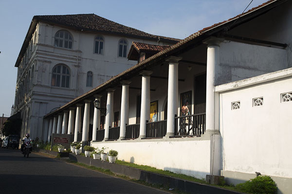 Picture of The National Museum at the east side of GalleGalle - Sri Lanka