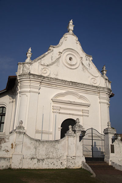 Foto van The Dutch reformed church. or Groote Kerk, in Galle fortGalle fort - Sri Lanka