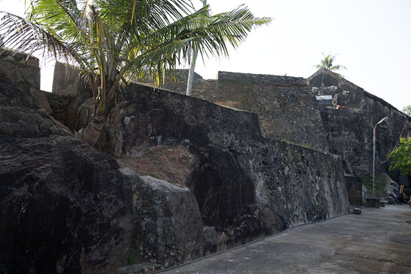 The Zwarte Fort, or Black Fort, on the northeast side of Galle - 斯里兰卡