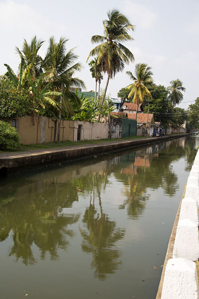 View of the Hamilton Canal in Negombo - 斯里兰卡