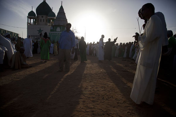 The Sufi ceremony at the Hamed El Nil mosque | Hamed El Nil dervishes | Sudan