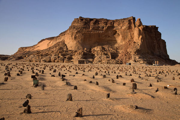 Cemetery and Jebel Barkal, the Holy Mountain | Jebel Barkal | Sudan