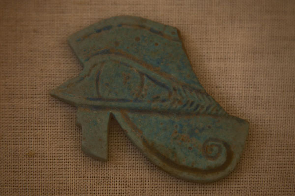 Small artifact displayed in the little museum at the foot of Jebel Barkal | Jebel Barkal | Sudan