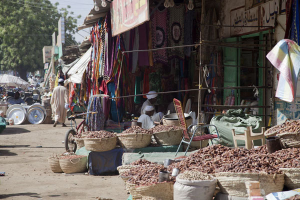 Picture of There are hundreds of shops and stalls at the markets of Kassala - Sudan - Africa