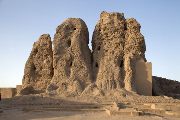 The western deffufa in the late afternoon | Deffufas of Kerma | Sudan
