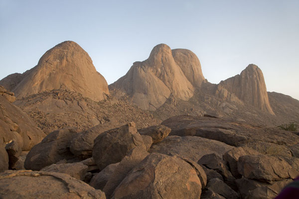 Foto di View of the Taka Mountains at the end of the day - Sudan - Africa
