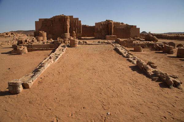 Temple 300 seen from a distance | Musawarat es Sufra | Sudan