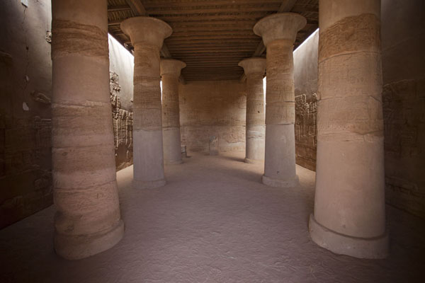 Interior view of the Lion Temple | Musawarat es Sufra | Sudan