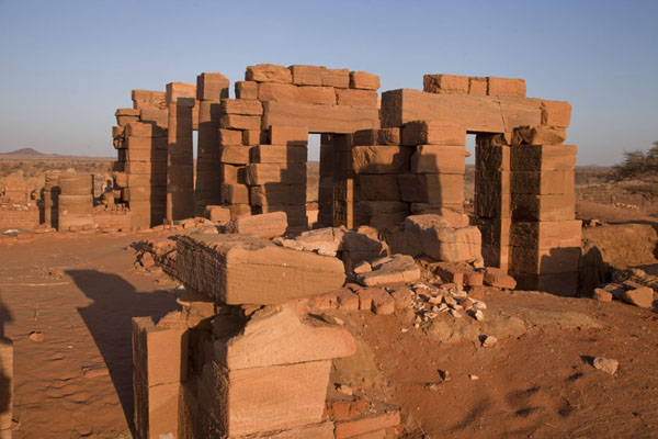 Picture of Temple of Amun in the early morning - Sudan - Africa