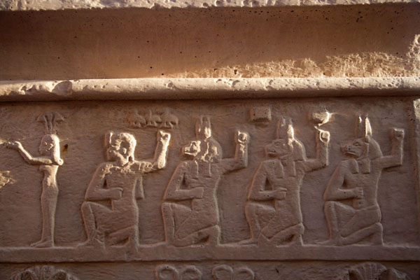 Detail of the Temple of Amun | Naqa | Sudan
