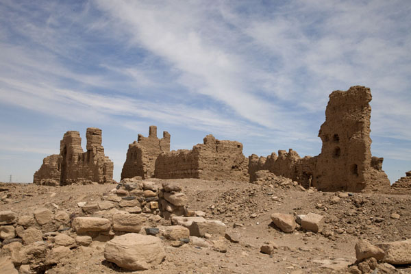 Picture of Sai Island (Sudan): The biggest ruins on Sai Island are of this Ottoman fort on the east side