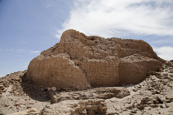 Side view of the ruins of the walls of the Ottoman fort | Sai Island | Sudan
