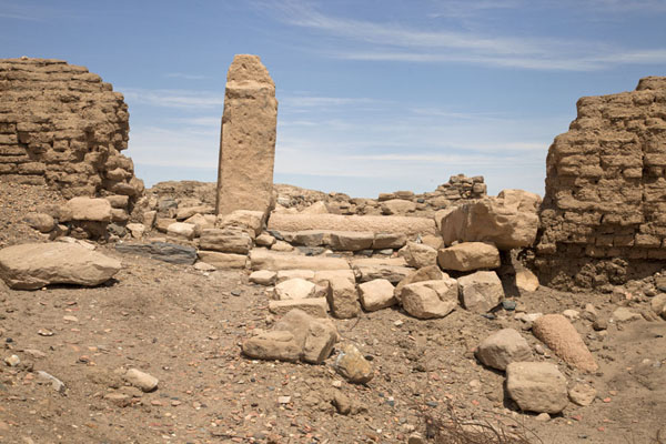 The Ottoman citadel was built on top of the ruins of the Egyptian town | Sai Island | Sudan