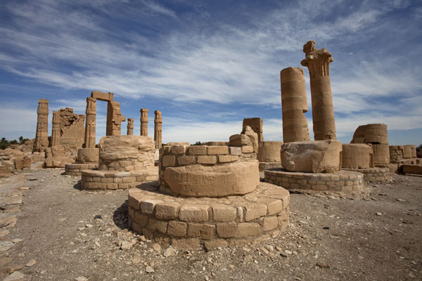 View of the temple of Soleb from one of its corners | Soleb | Soudan