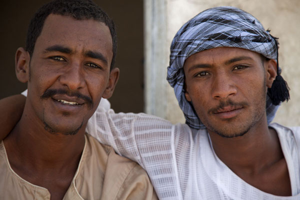 Picture of Sudanese guys posing for the pictureSudan - Sudan