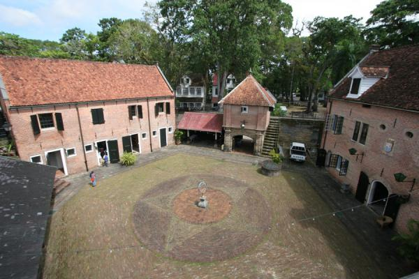 Picture of View on the courtyard of Fort Zeelandia