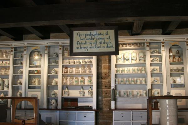 Pharmacy inside Fort Zeelandia | Fort Zeelandia | Surinam