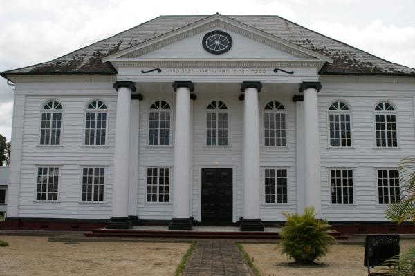 Dutch-Israelite synagogue in Paramaribo | Paramaribo Architecture | Surinam