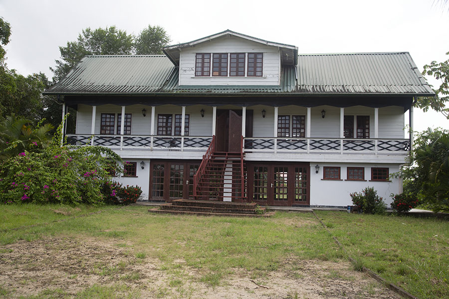 Colonial plantation house on the grounds of Fort Nieuw Amsterdam | Fort Nieuw Amsterdam | Suriname