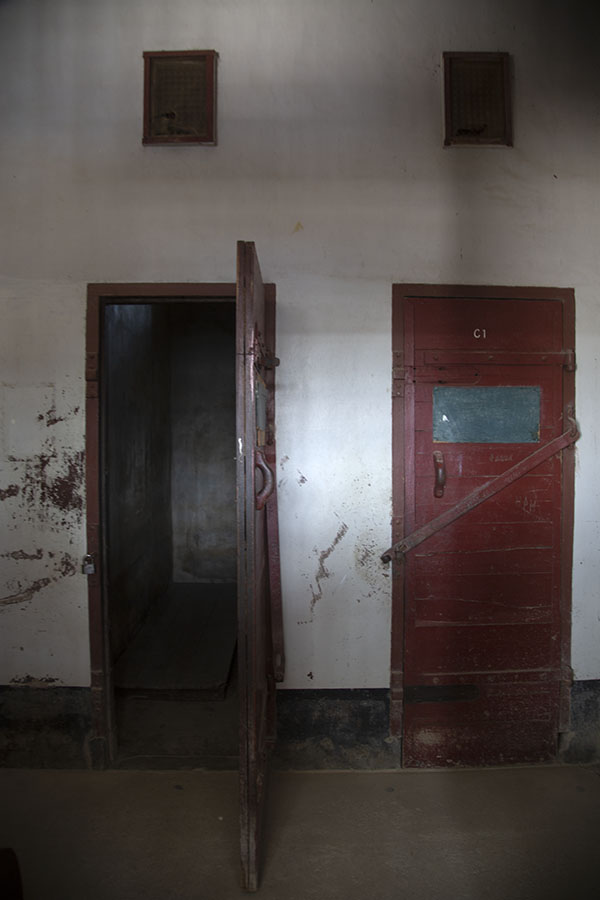 Two cells of the prison inside Fort Nieuw Amsterdam | Fort Nieuw Amsterdam | Suriname