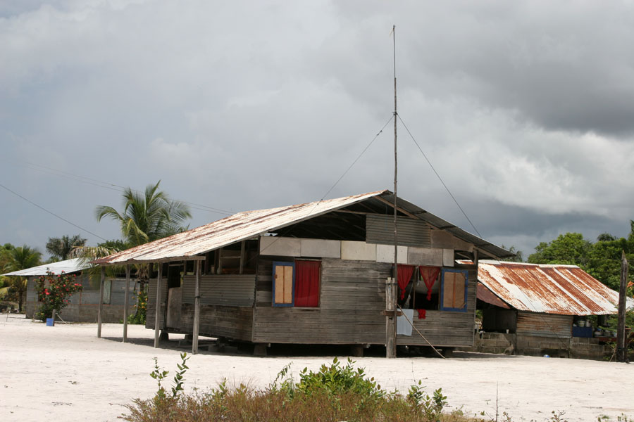 Picture of Houses in GalibiGalibi - Suriname