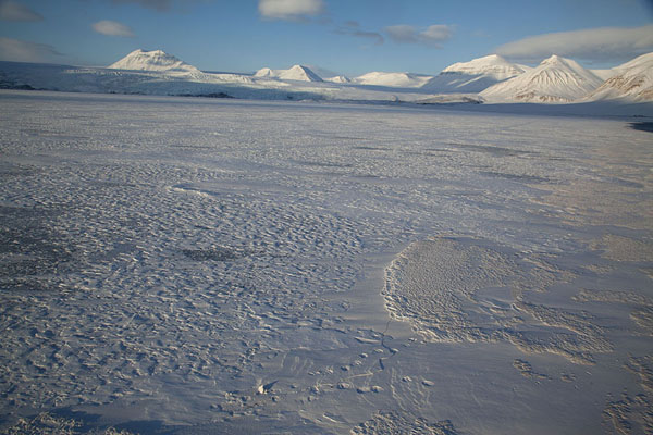 The fast ice at the northern side of Billefjorden | Billefjorden | Svalbard and Jan Mayen