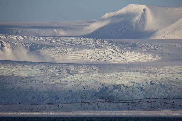 Picture of Billefjorden (Svalbard and Jan Mayen): Nordenskiöldbreen, the glacier at the northern end of Billefjorden