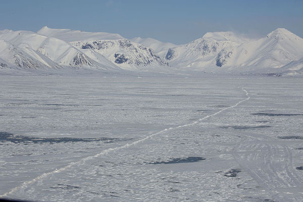 The fast ice at the end of Billefjorden | Billefjorden | Svalbard and Jan Mayen