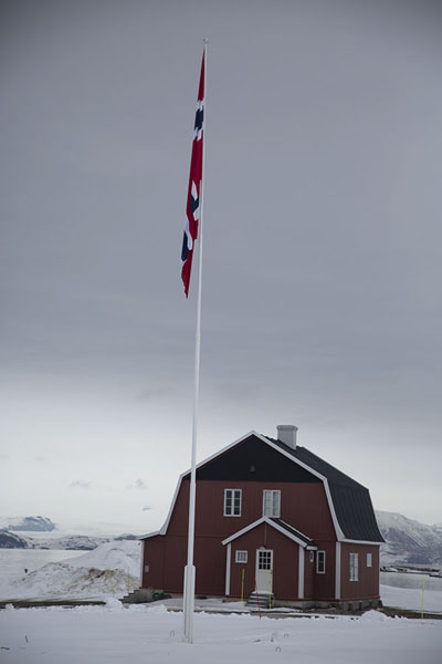 The building where Amundsen stayed when he was in Ny-Ålesund | Ny-Ålesund | Svalbard and Jan Mayen